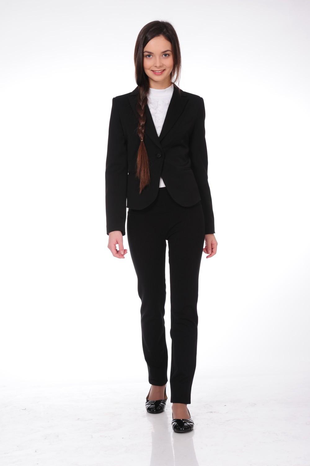 костюм черный пиджак и брюки