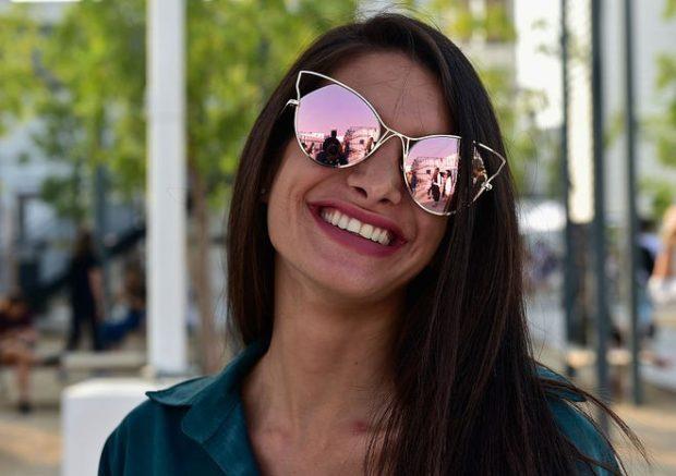 модные солнцезащитные очки 2018 2019 женские: зеркальные лиса