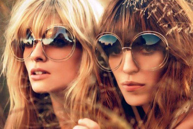 модные очки солнцезащитные 2018 2019 женские: массивные круглые
