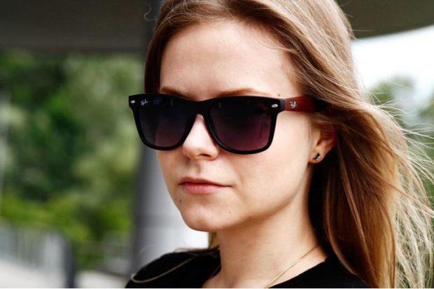 модные очки солнцезащитные 2018 2019 женские: черные