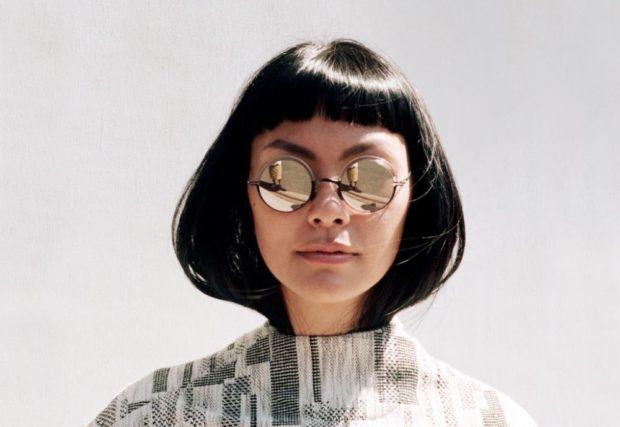 модные очки солнцезащитные 2018 2019 женские: круглые зеркальные серебро