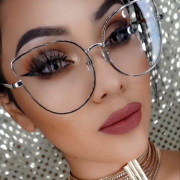 модные очки солнцезащитные 2018 2019 женские: с прозрачными линзами форма лисы