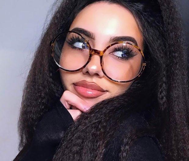 солнцезащитные очки 2018 2019 женские тренды: с прозрачными линзами круглые оправа из пластмассы