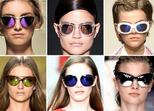 модные очки 2018 2019 женские солнцезащитные: разной формы