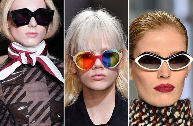 солнцезащитные очки женские 2018 2019: оверсайз оригинальной формы