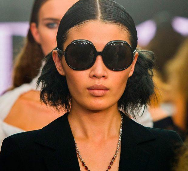 солнечные очки 2018 2019 женские: оверсайз круглые массивные