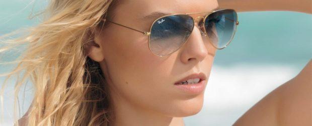 солнечные очки 2018 2019 женские: авиаторы стекло омбре металлическая оправа