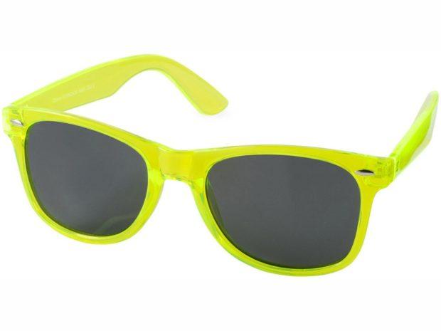 модные солнечные очки 2018 2019 женские: цветная оправа лимонного цвета