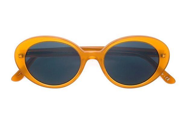 модные солнечные очки 2018 2019 женские: оправа оранжевая
