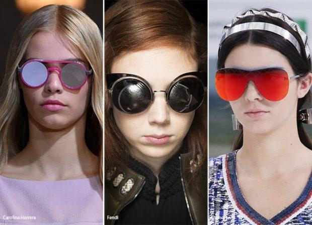 модные солнечные очки 2018 2019 женские: нестандартные линзы и оправы
