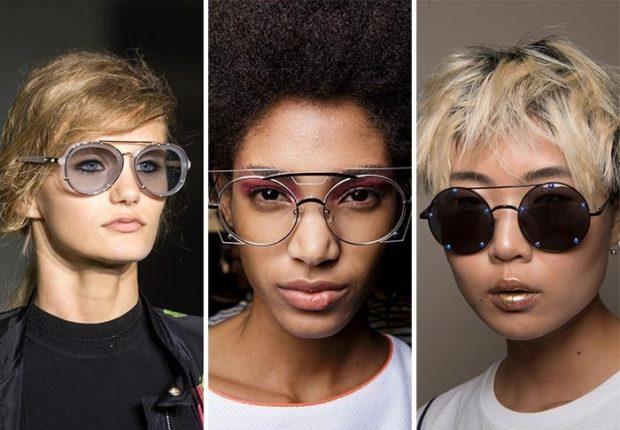 солнцезащитные очки 2018 2019 женские фото: нестандартные линзы и оправа