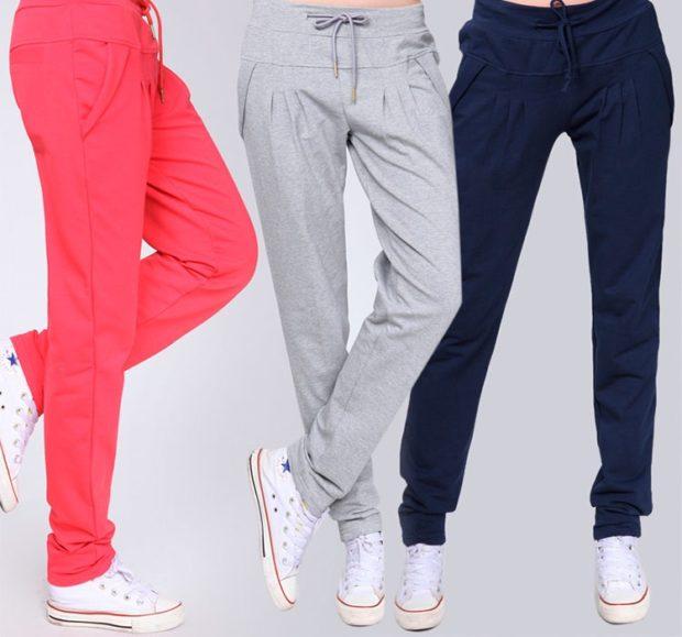 какие спортивные штаны в моде 2018