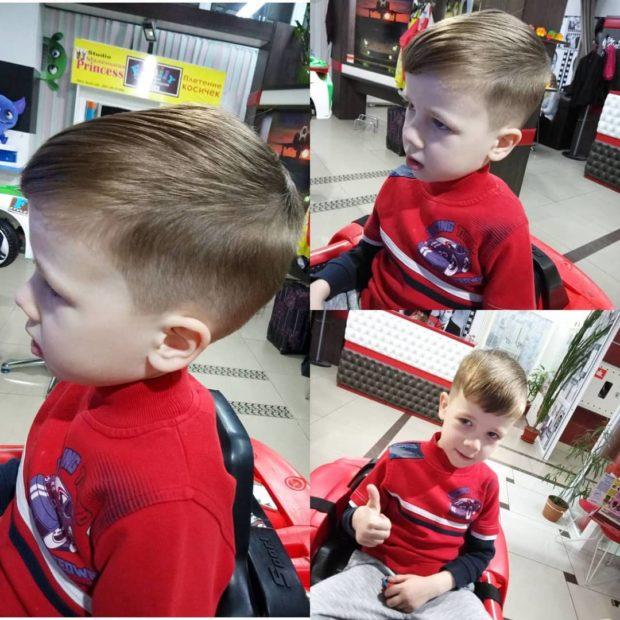 стрижка шапочка для мальчика