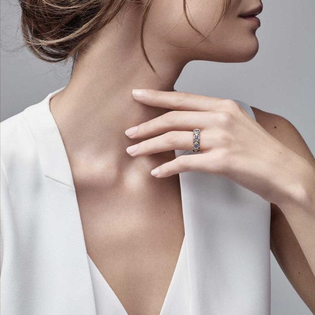модные ювелирные украшения 2018-2019: кольцо TIFFANY