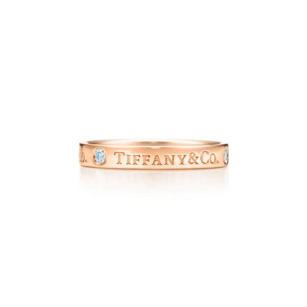 модные ювелирные украшения 2019-2020: кольцо TIFFANY