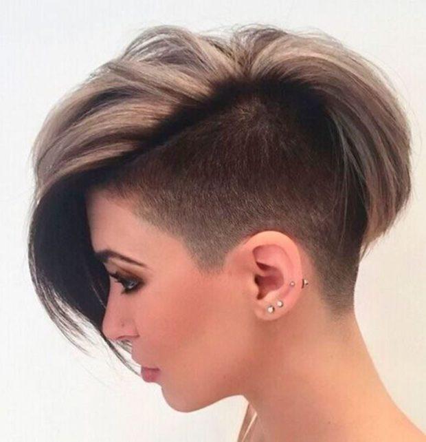 женская красивая стрижка на короткие волосы 2018 2019. После 35 лет