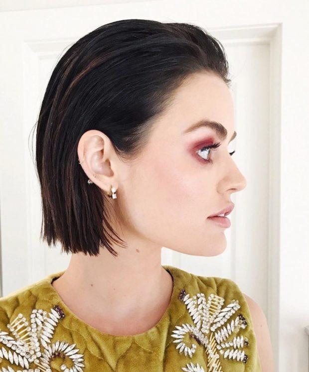 женская красивая стрижка на короткие волосы 2018 2019. Не требующая укладки