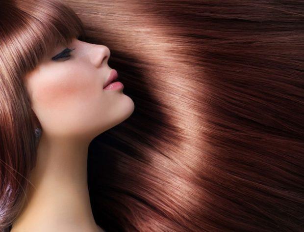 красивые густые волосы прямые