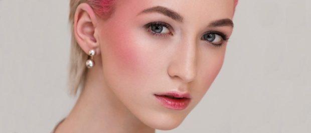 Дрейпинг розовый