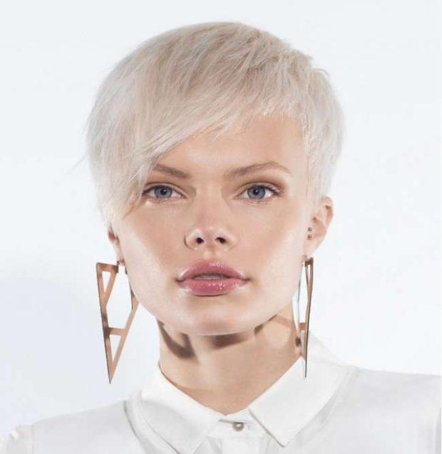 женская стрижка короткая асимметрия мода весна лето 2021