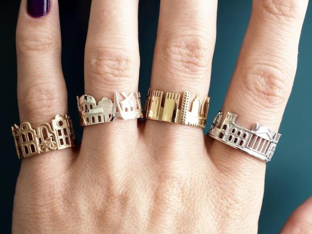 кольца золотые города