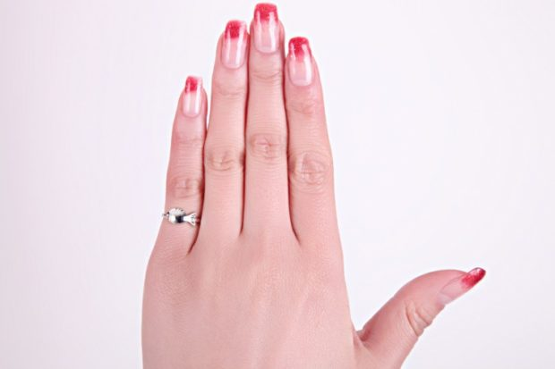 кольцо на мизинец серебро