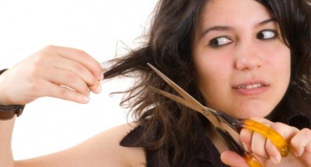 можно пойти в салон для стрижки волос