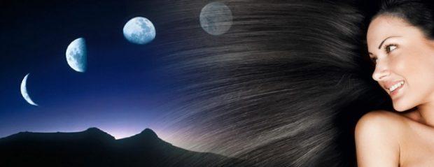 фазы луны и рост волос