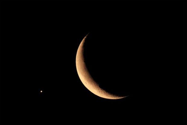 луна убывающая