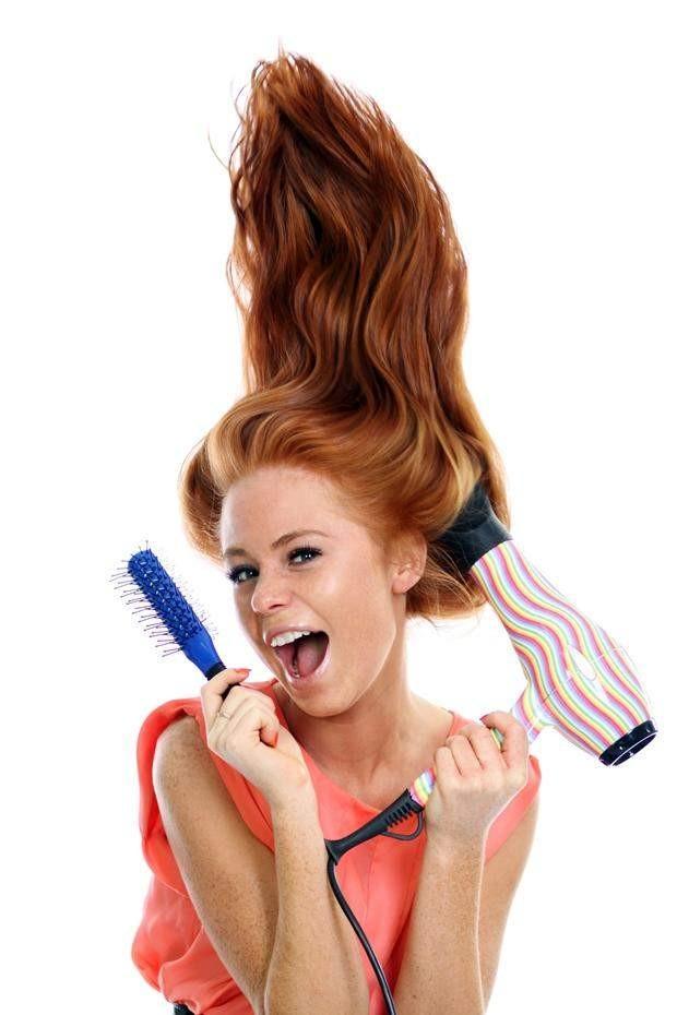 откажитесь от укладки волос