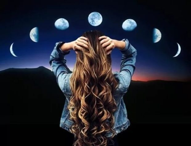 растущая и убывающая луна когда стричь волосы