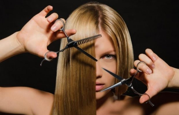отличный день для покраски и стрижки волос