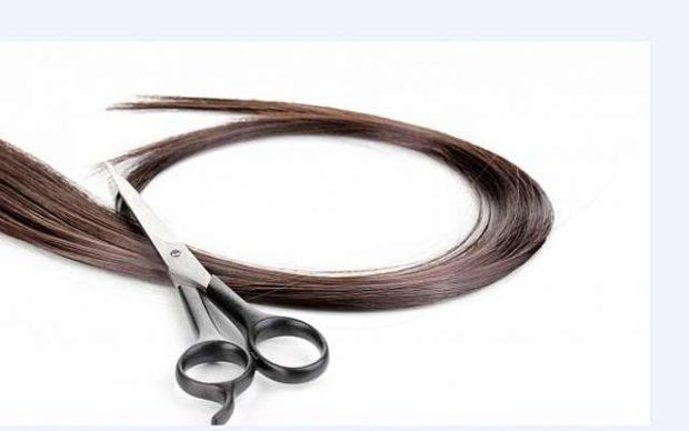 волосы и ножнички