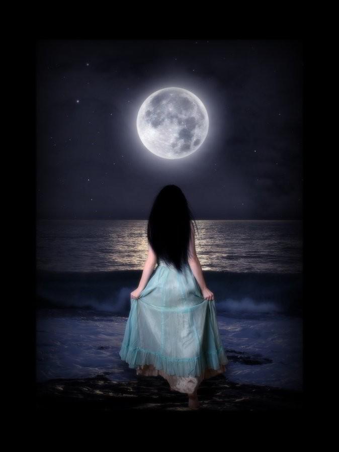 луна и стрижки
