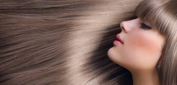 сильные густые волосы