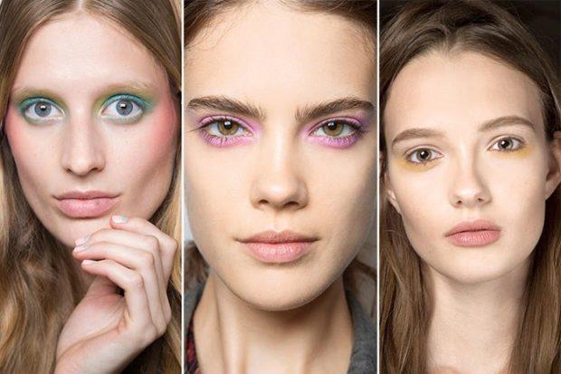 макияж яркий летний