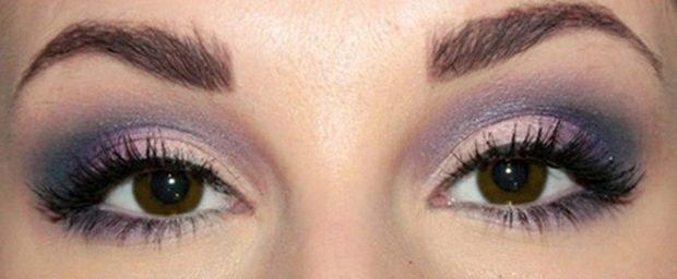 смоки айс фиолетовый с бежевым