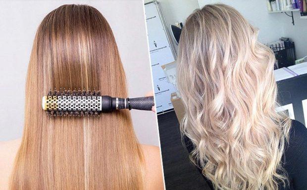 мелирование 2018 на светлые волосы