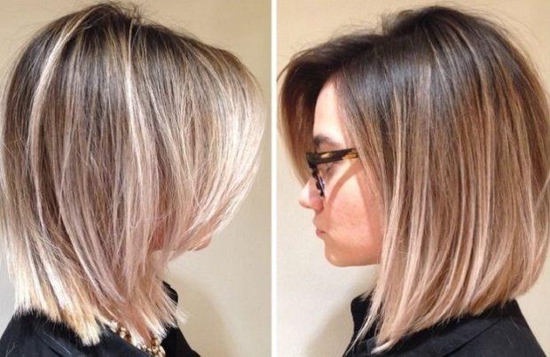 мелирование на русые волосы 2018