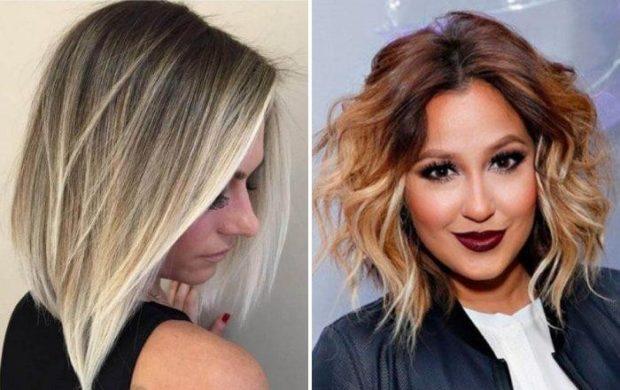 брондирование на короткие волосы 2018