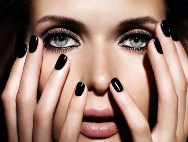 брови 2018 мода: густые натуральные черные