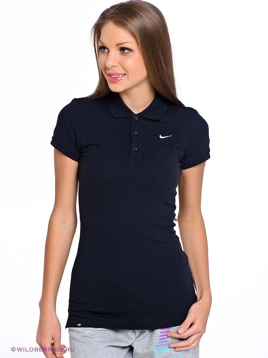 модные футболки 2019 фото: поло черная