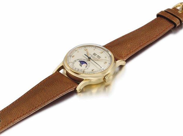 женские часы: классика золото с коричневым