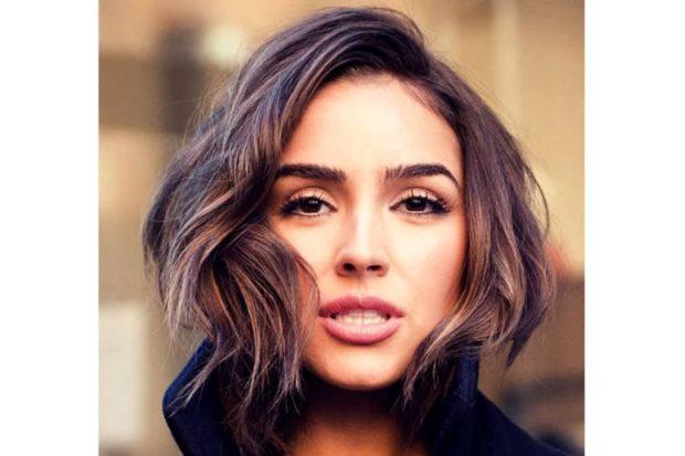 стрижка женская 2018 каре средняя длина волнистые волосы