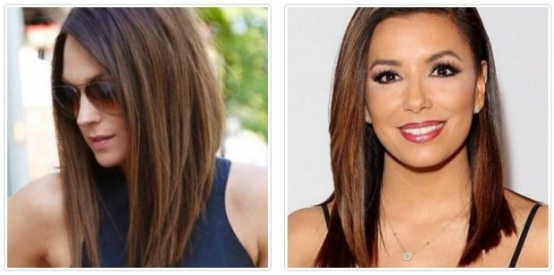 женская стрижка каре удлиненное 2018 на средние волосы