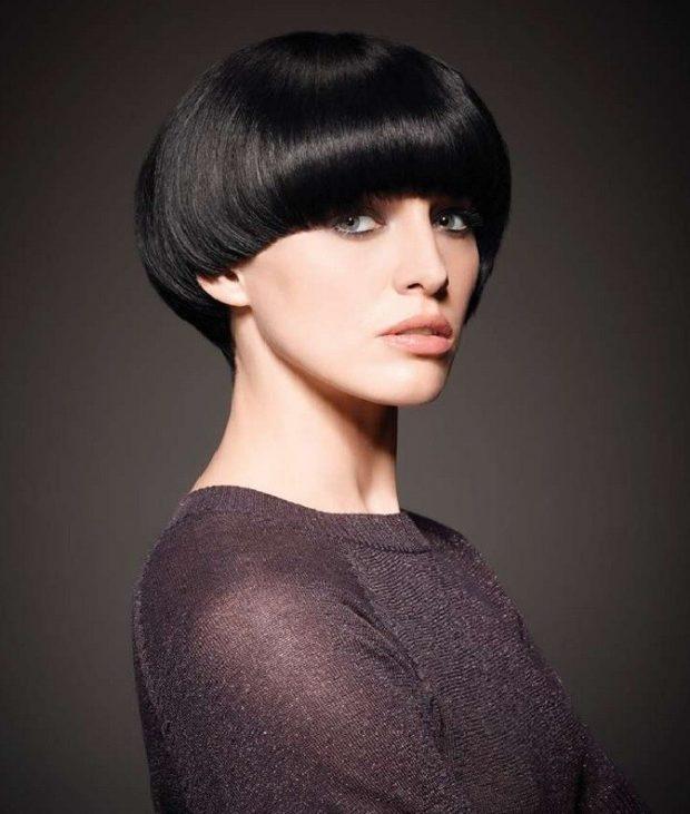 стильная короткая стрижка шапочка для женщин за 30 фото