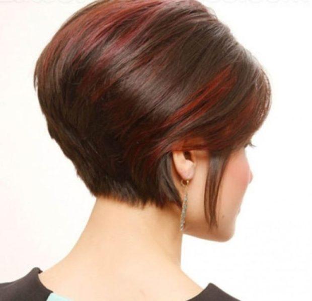 каре на ножке на короткие волосы для женщин за 30 фото