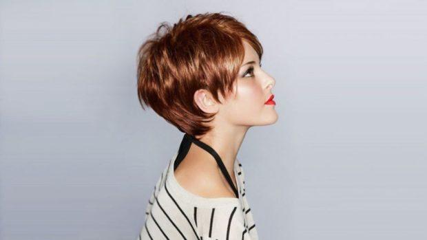 модная стрижка боб с косой челкой для женщин за 30 фото