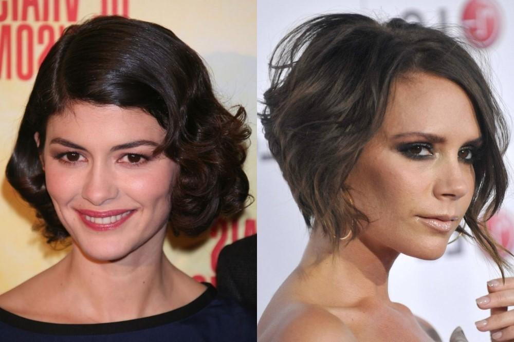 стильные стрижки на короткие волосы асимметрия для женщин за 30