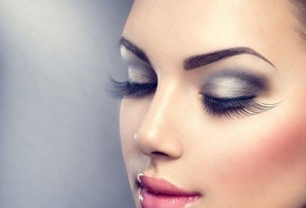False eyelashes magnetic long
